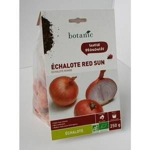 Botanic Bulbes d%u2019échalote Red Sun AB bio calibre 30/45, 250 g