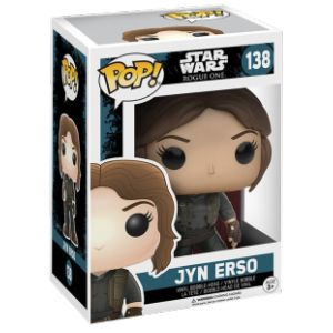 Funko Figurine Pop! Star Wars: Rogue One Jyn Esro