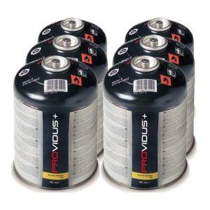 Providus Pack de 6 cartouche gaz 425g butane propane mix - 770 ml - bonbonne pour désherbeur thermique