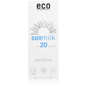 Eco Cosmetics Lait Solaire Sensitiv - 75 ml - SPF 20