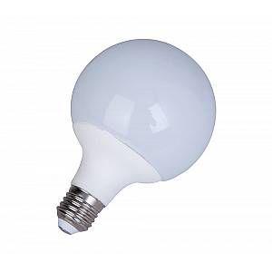 Ampoule LED céramique G95 E27 - 10 W équivalence incandescence 75 W, 920 lm - 6 000 K