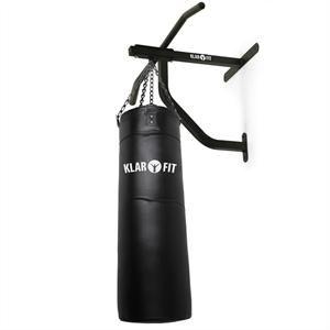Klarfit KS7SG - Kit musculation : Sac de frappe Punching Ball et barre de traction murale