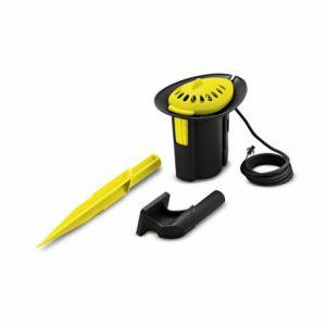 Kärcher Pomper, arroser, pulvériser Pluviomètre Pluviomètre compatible avec programmateur WU 60/49 ou WU 90/72, noir et jaune.