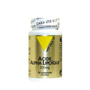Vit'All + Acide alpha lipoïque 200mg - 30 comprimés
