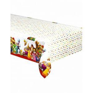 Nappe plastique Super Mario (120 x 180 cm)