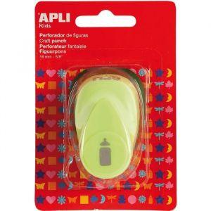 APLI APPLI Perforatrice de Forme créative - Biberon - Mixte - Forme biberon (16 mm) - Pour papier de 90 à 220 g/m² - Mécanisme en métal