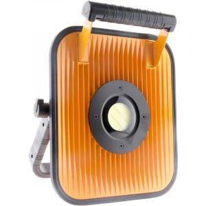 Elexity Projecteur LED 30W à batterie pour chantier avec haut parleur et bluetooth - IP54
