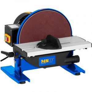 MSW Ponceuse à disque stationnaire -DS550 (550 W 1 750 Tr-Min Table Inclinable 0-45degrés diamètre 250mm 1 Raccord D'Aspiration )