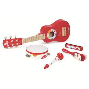 Janod Confetti music live - Set instrument pour enfant