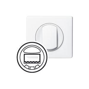 Legrand Enjoliveur Céliane interrupteur automatique émetteur/récepteur CPL blanc