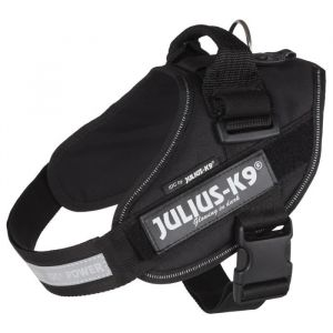 Julius K9 Harnais Power IDC 0 M-L : 58-76 cm-40 mm Noir