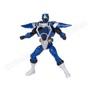 Bandai Figurine Power Rangers : Armure Ninja Steel 12 cm : Bleu