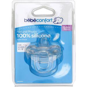 Bébé Confort Sucettes Physio 0-6m Silicone - La Tétine
