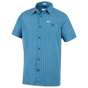 Columbia Chemise DECLINATION TRAIL II bleu - Taille S,M