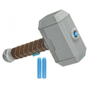 Marteau de Thor lance fléc ttes Nerf Power Moves Accessoire de déguisement