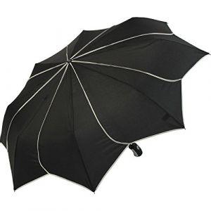 Pierre Cardin Parapluie blanc et noir pliant sunflower
