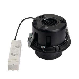 SLV Spot LED encastrable 114170 noir 35 W noir