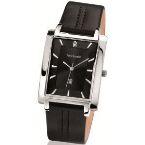 Pierre Lannier 210D1 - Montre pour homme bracelet en cuir Extra-plat