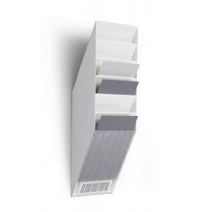 Durable 1709760010 - Présentoir mural FLEXIBOXX 6 A4, pour documents A4, blanc