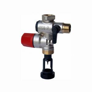 """Watts Industries Groupe de sécurité NF-ACS laiton droit 1/2"""" (15/21)"""