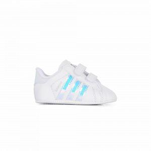 Adidas Superstar Cf Crib Iridescent Originals Blanc/argent 18 Enfant