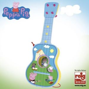 Reig Musicales Guitare 4 cordes Peppa Pig