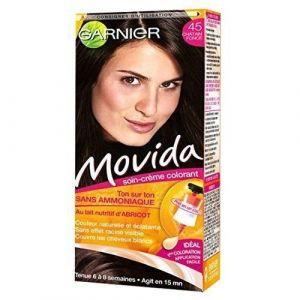 Garnier Movida 45 Châtain Foncé - Coloration temporaire sans ammoniaque