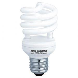 Sylvania Ampoule faststart spirale 15W E27 - lumière du jour - Fluocompacte twist, spirale