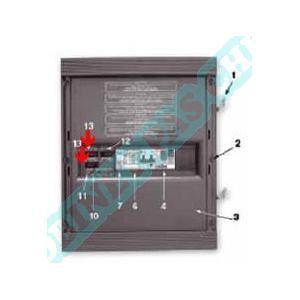 AquaService Inverseur à bascule unipolaire auto/arrêt/manuel