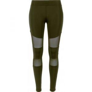 Urban classics Collants Legging tech mesh vert - Taille EU S,EU M,EU L,EU XL,EU XS