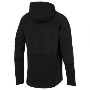 Puma Evostripe Move Hooded Jacket Sweat à Capuche Homme, Black, M