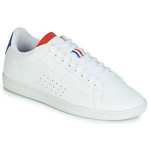 Le Coq Sportif Baskets basses COURTSET blanc - Taille 43