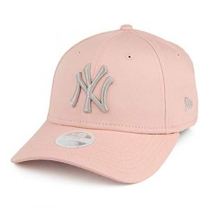 New era New York Yankees 9forty Adjustable Women Cap League Essential Rose/Stone - One-Size