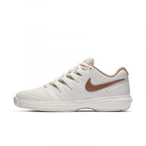 Nike Chaussure de tennis pour surface dure Court Air Zoom Prestige pour Femme - Crème - Taille 38 - Female