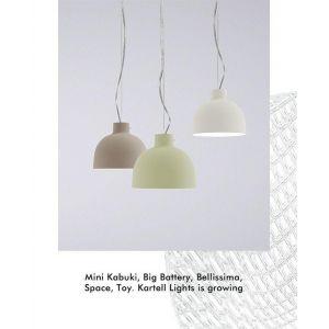 Kartell Suspension Bellissima Mate / Ø 50 cm - Plastique noir mat en matière plastique
