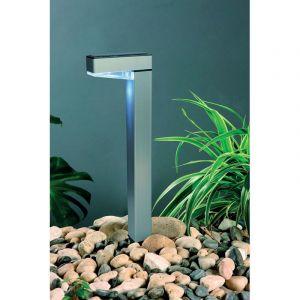Ozalide Lampe solaire à planter en aluminium - H. 42,5 cm
