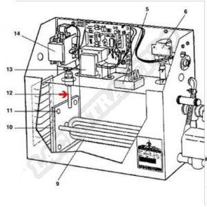 Procopi 1881015 - Sonde de niveau d'eau pour générateur de vapeur MR Steam MS et CT