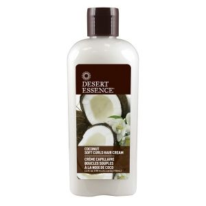 Desert Essence Crème capillaire boucles souples à la noix de coco