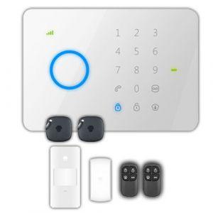 Chuango Kit d'alarme domestique GSM sans fil G5
