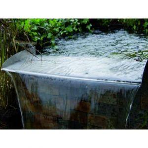 Ubbink Brisbane Lame d'eau 60 cm En acier inoxydable