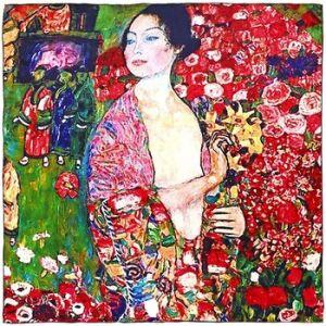 Carré de soie SilkArt Gustav Klimt La Danseuse