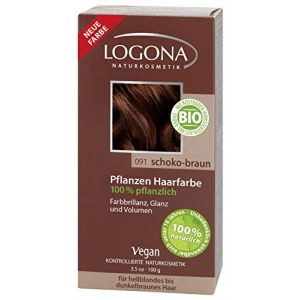 "Logona Soin colorant en poudre ""091 Chocolat"""