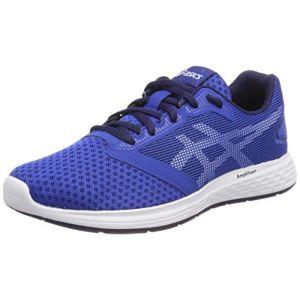 Image de Asics Patriot 10 GS, Chaussures de Running Compétition garçon, Multicolore (Imperial/White 402), 38 EU