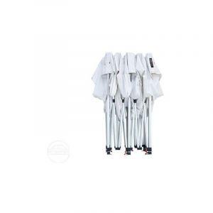 Intent24 TOOLPORT Tente Pliante 3x6 m sans Toiles latérales Aluminium Barnum Chapiteau Pliant Tonnelle Stand Paddock Réception Abri Blanc