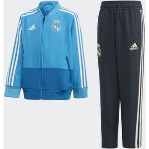 Adidas Ensembles de survêtement Survêtement de présentation Real Madrid bleu - Taille 12 / 18 mois,2 / 3 ans,3 / 4 ans,4 / 5 ans,5 / 6 ans