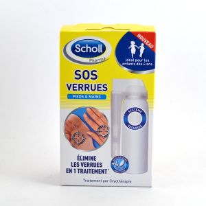 Image de Scholl SOS Verrues Pieds & Mains (80 ml)