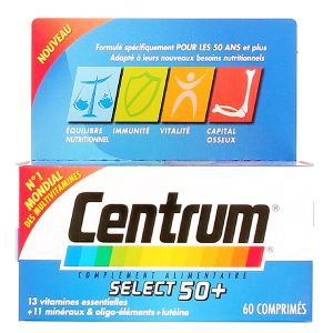 Centrum select 50+ - Formule spécial seniors