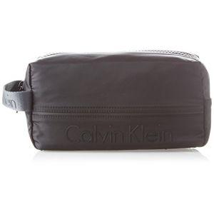 Calvin Klein Matthew 2.0 Washbag, Organiseurs de sacs à main homme, Noir (Black), 13x16x28 cm (B x H T)