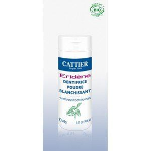 Cattier Eridène - Dentifrice poudre blanchissant (40g)