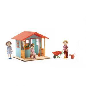 Djeco Maison de jardin - Maison de poupées